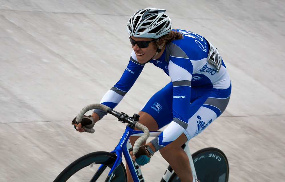 Lukas Adomonis competing at 2013 Track Nationals in Dieppe, NB