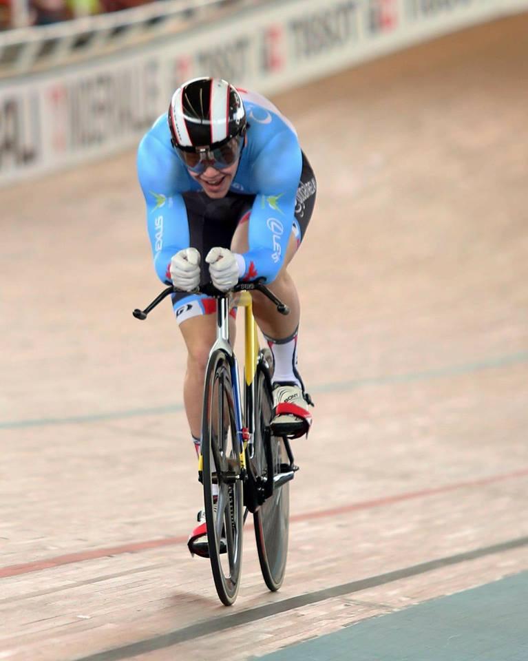 Stefan Ritter 1 km TT World Cup final
