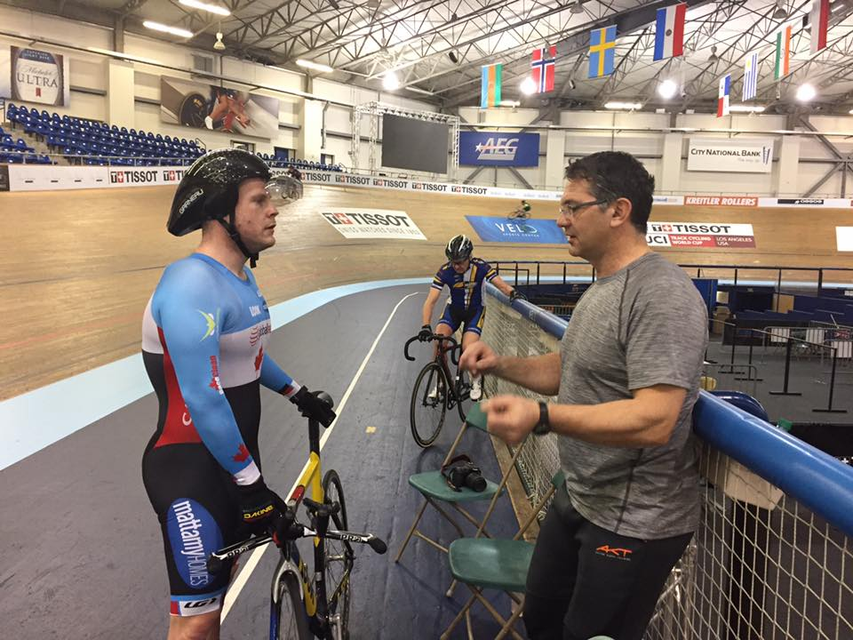 Alex and Ross midweek prior to Para World Champs.
