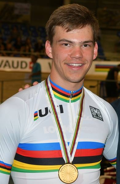 Stefan Ritter - Junior World 1 km TT Champion 2016