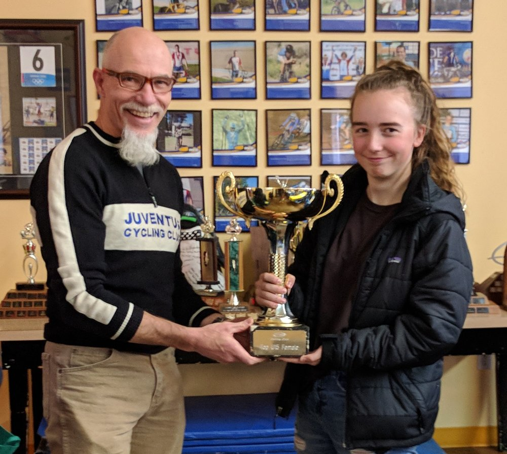 Annie Wyminga Scott is our 2017 Top U15 Female.