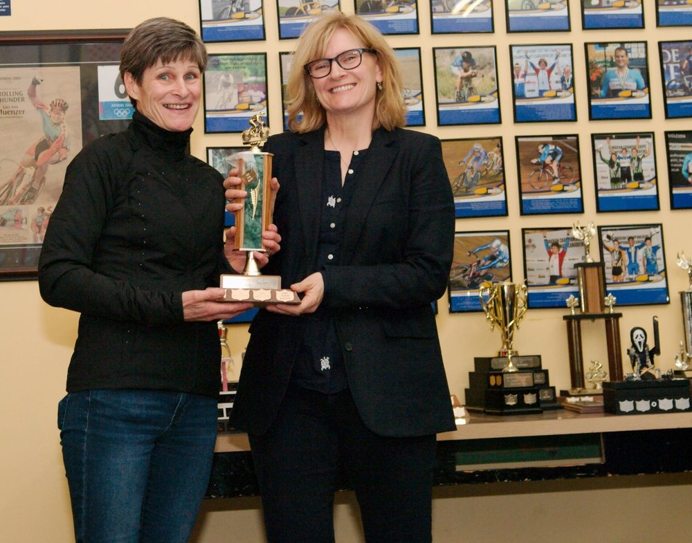 Gail Wozny is our 2017 Top Master Female. She is also our wonderful Juventus President.