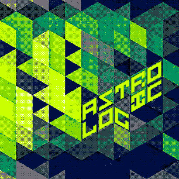 The cover of Astro Logic's second release Dreams In Green.