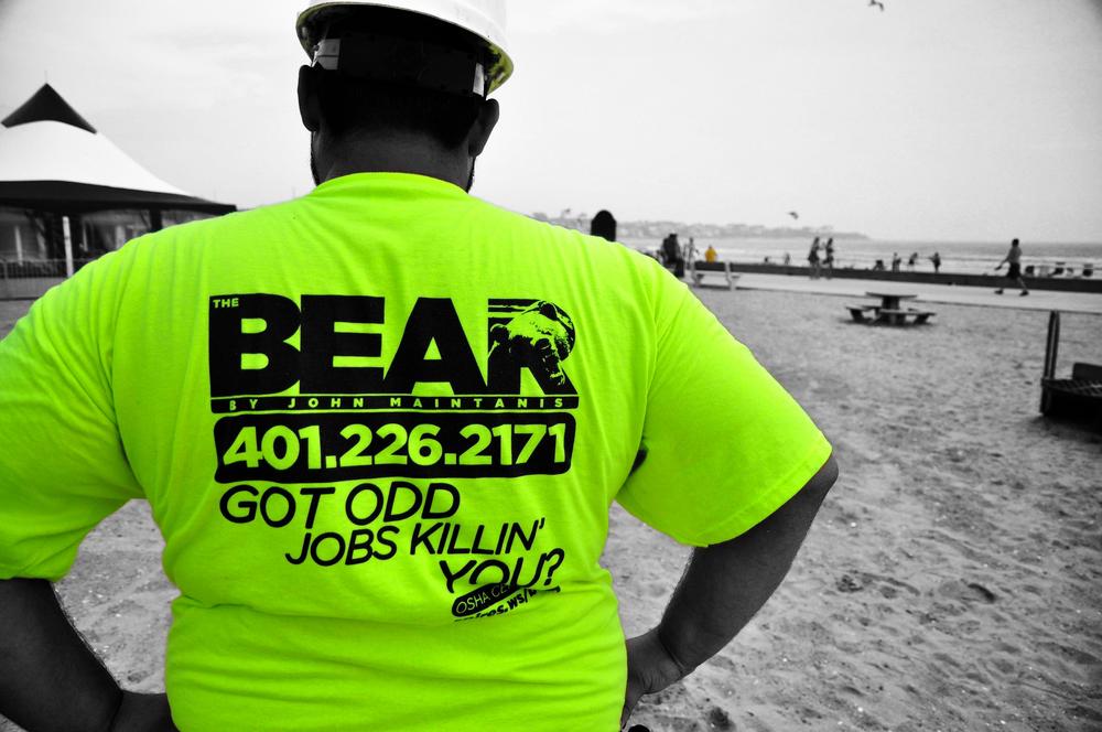 The Bear t-shirt design