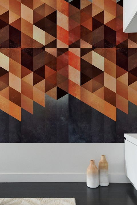 design dyymnd ryyyt sold as adhesive wall tiles by Blik