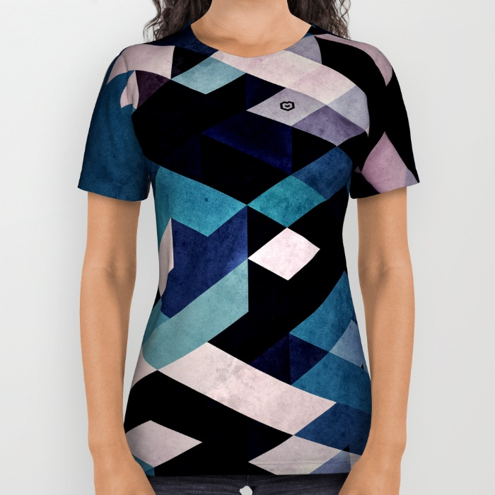 BLUX REDUX ALL OVER PRINT @ SOCIETY6