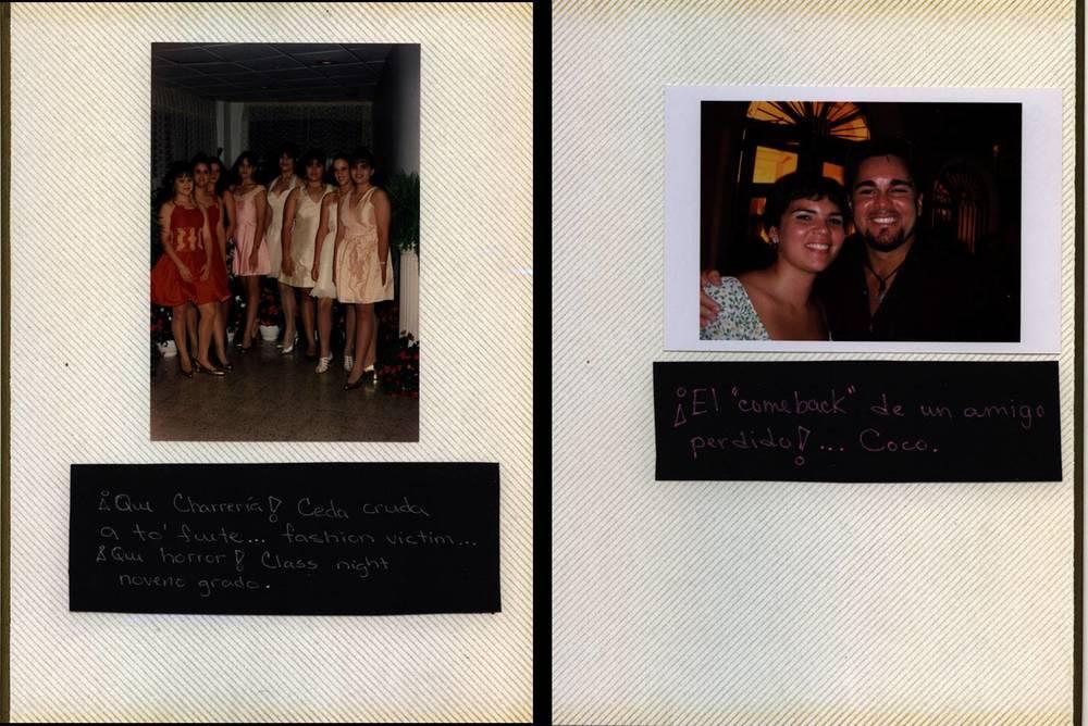 Album (Maruchi Cáceres), detail, 2007