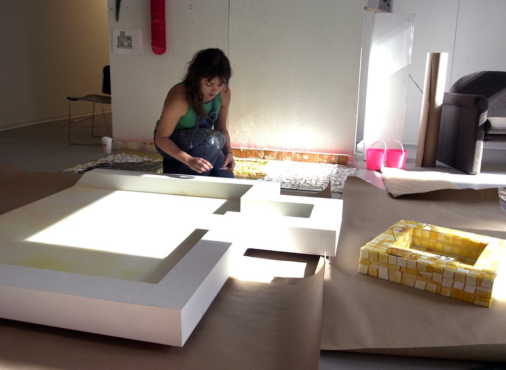 Nora-working-on-MFA-piece-2010.jpg