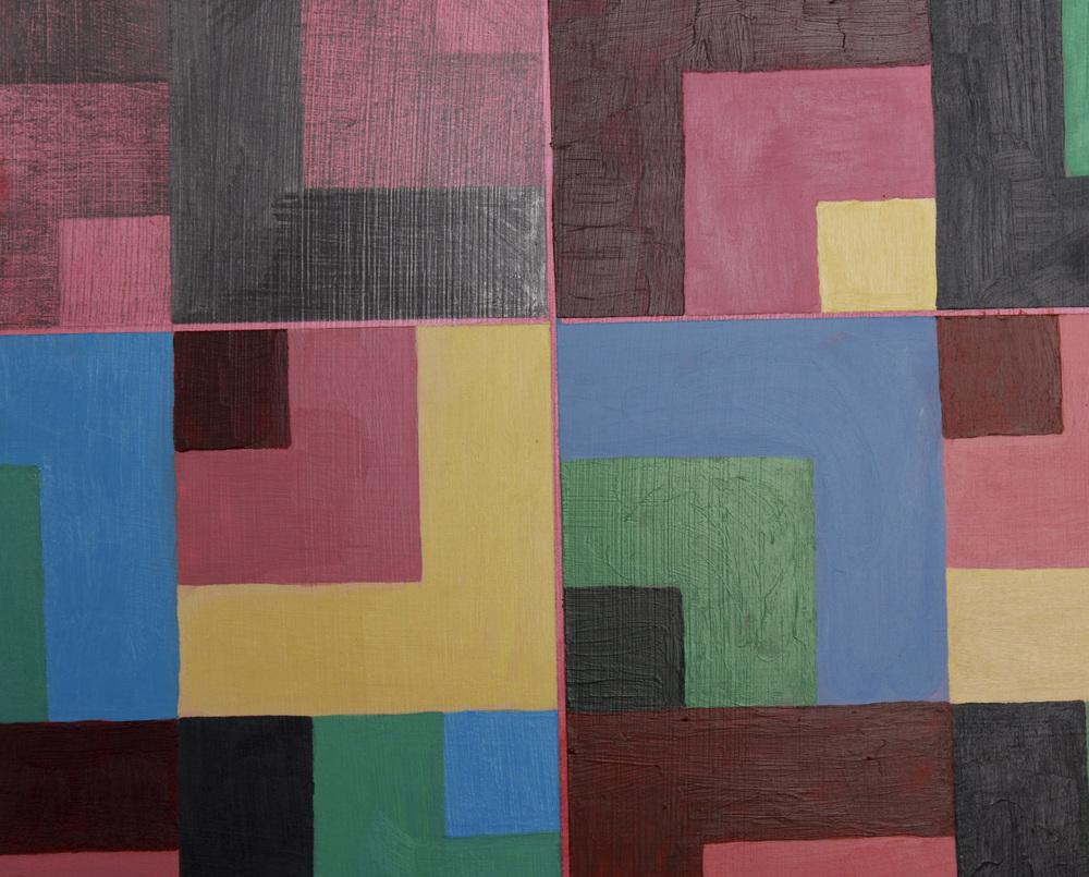 Piso Miramar, detail, 2014