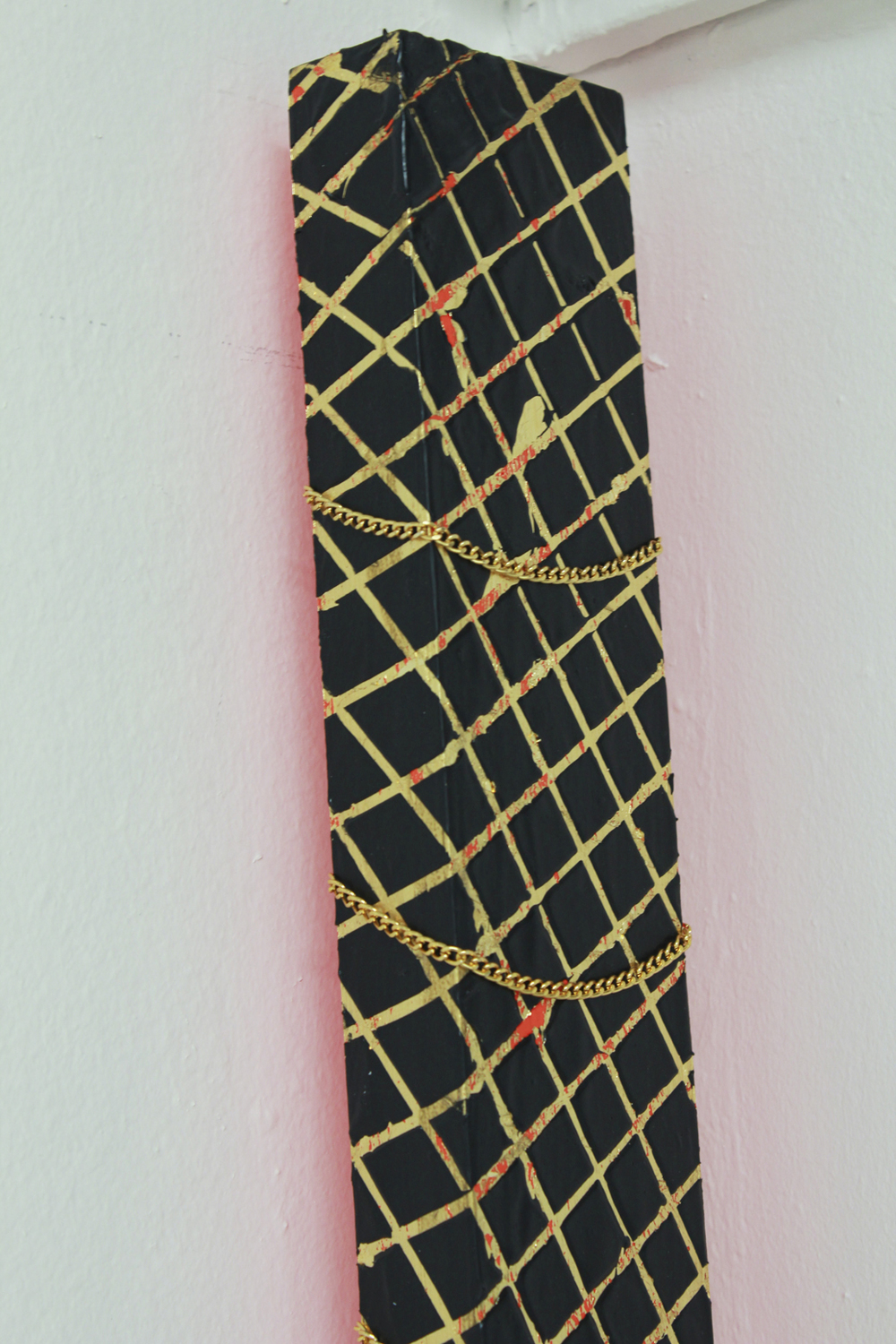 Black Wall Frame, detail, 2014