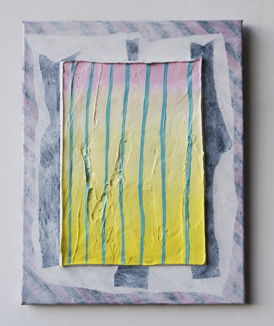 Untitled (Sunset on Wall), 2015