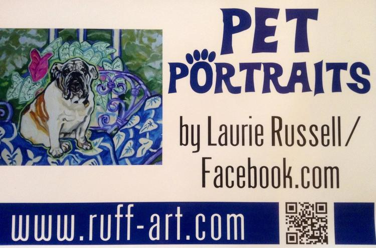 Pet Portraits by Laurie Russell