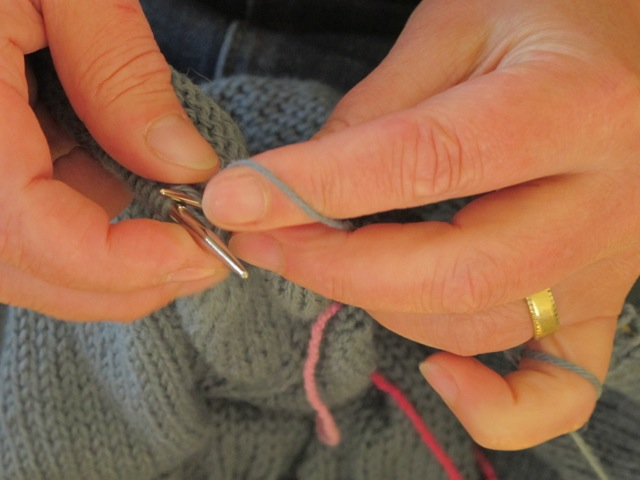Knitting...