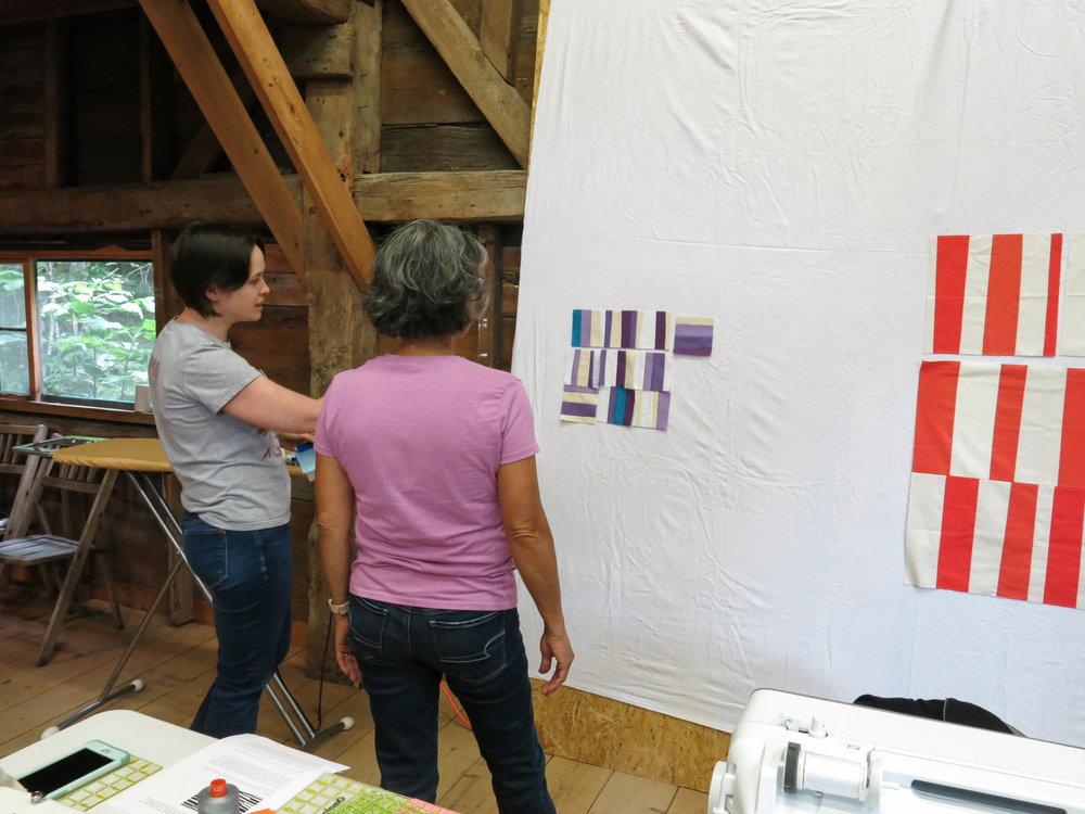 Jacey + Linda at the wall (1 of 1).jpg