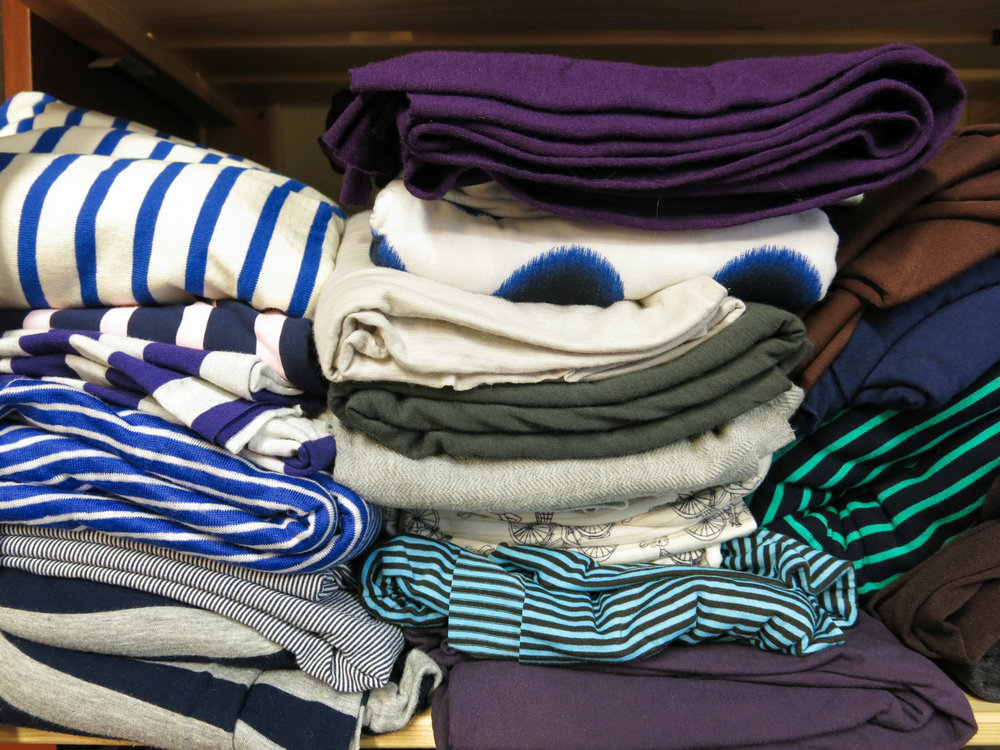 Look at all that striped jersey! So many Hemlock's just waiting to be made.....