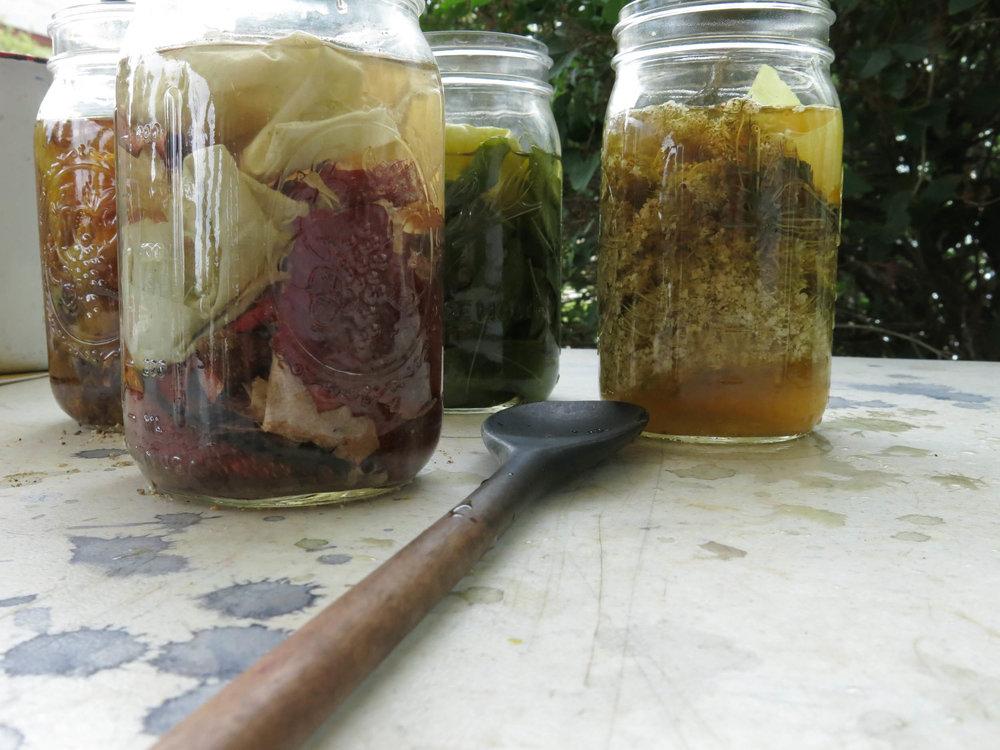 Local Dyestuffs in jars, spoon (1 of 1).jpg