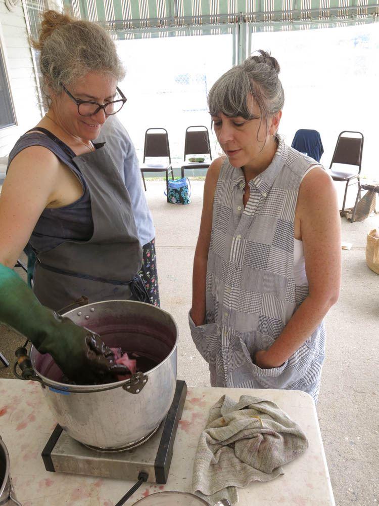 Erika & Amy over dyepots V.jpg