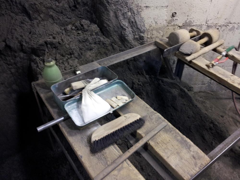 Sand Moulding Bench