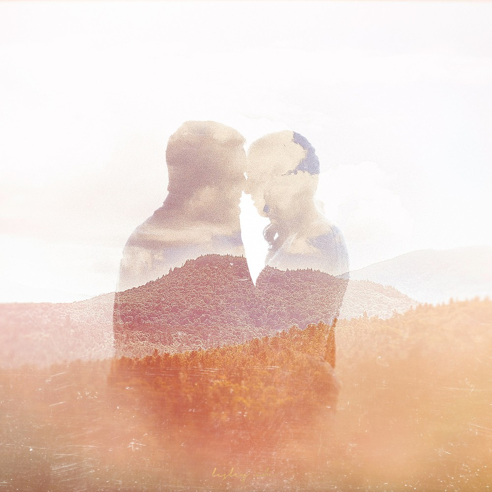 lake placid wedding double exposure