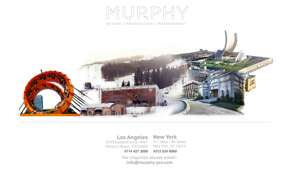 MURPHY Design | Production | Management From coast to coast