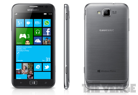 I mean, does Samsung's Ativ look like it fits WP8 at all?