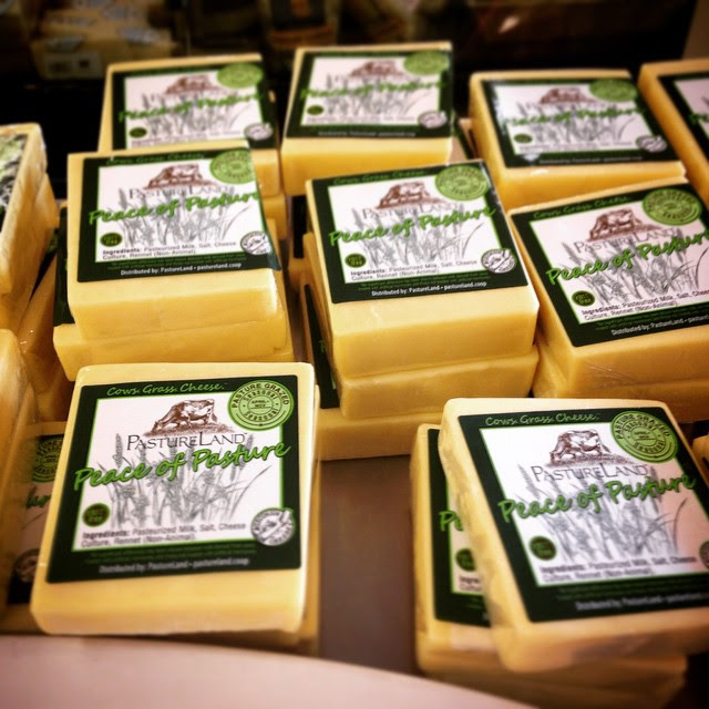 Sugar River Dairy  makes small batch, cultured in the cup yogurts right here in Wisconsin!  Pasture Land Dairy's  yogurt and cheese are made with milk seasonally, when their small herd of cows are able to graze as nature intended!