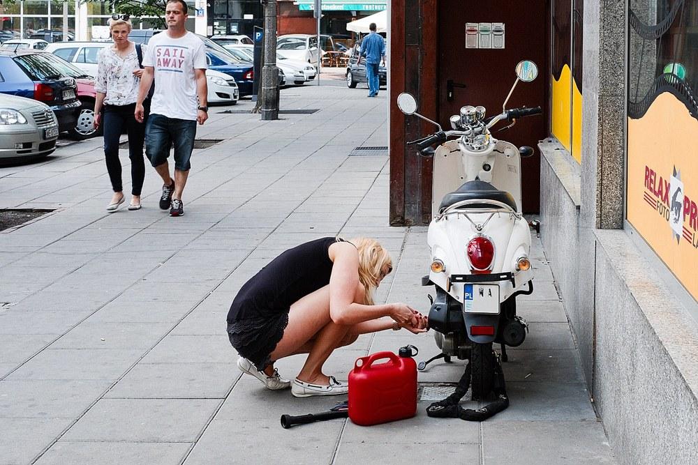 Skuter po tuningu to lepszy skuter :)