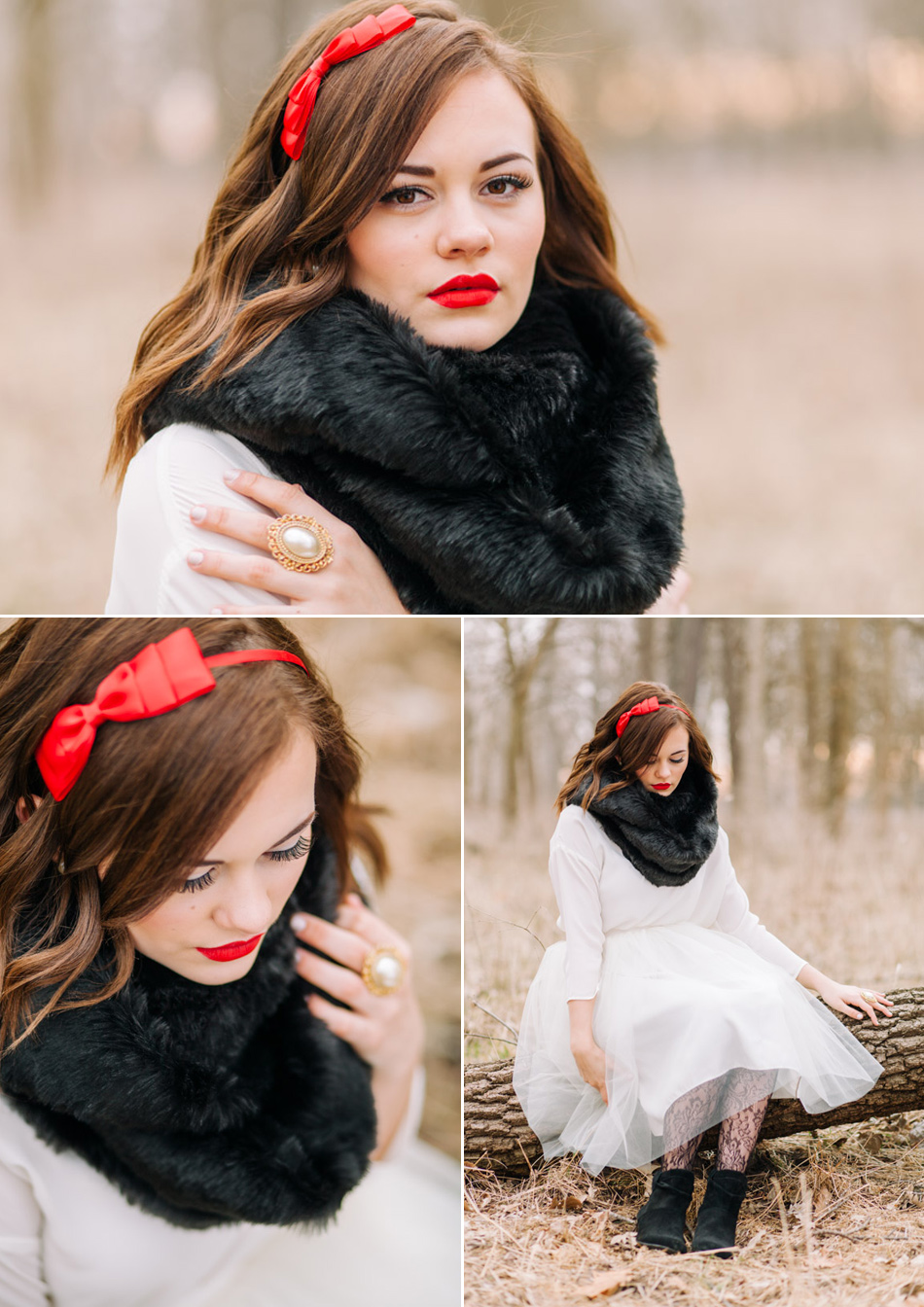Fairest of Them All - Snow White Themed Photoshoot by Lux Senior Photography