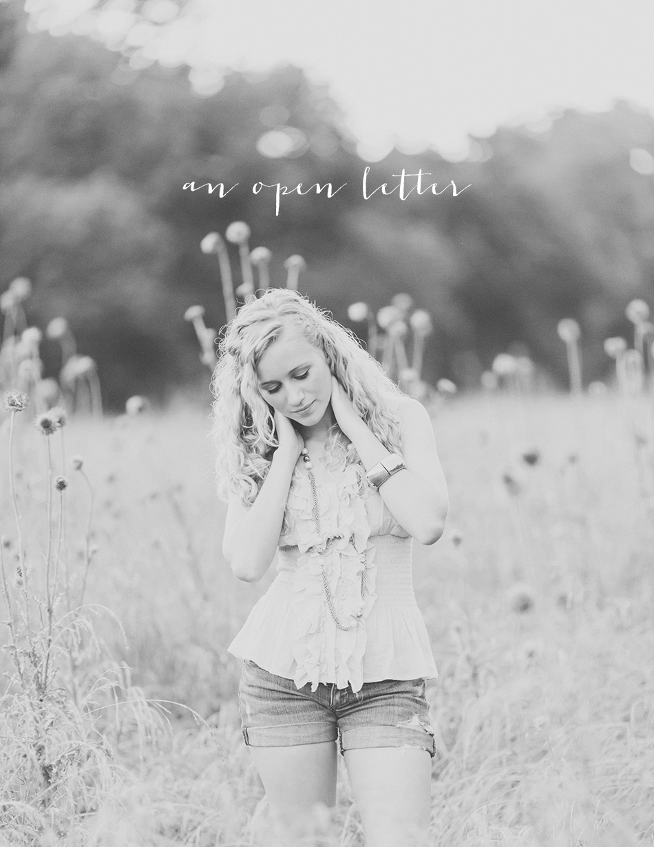 An open letter to brand-new photographers | Erin Neace - Lux Senior Photography