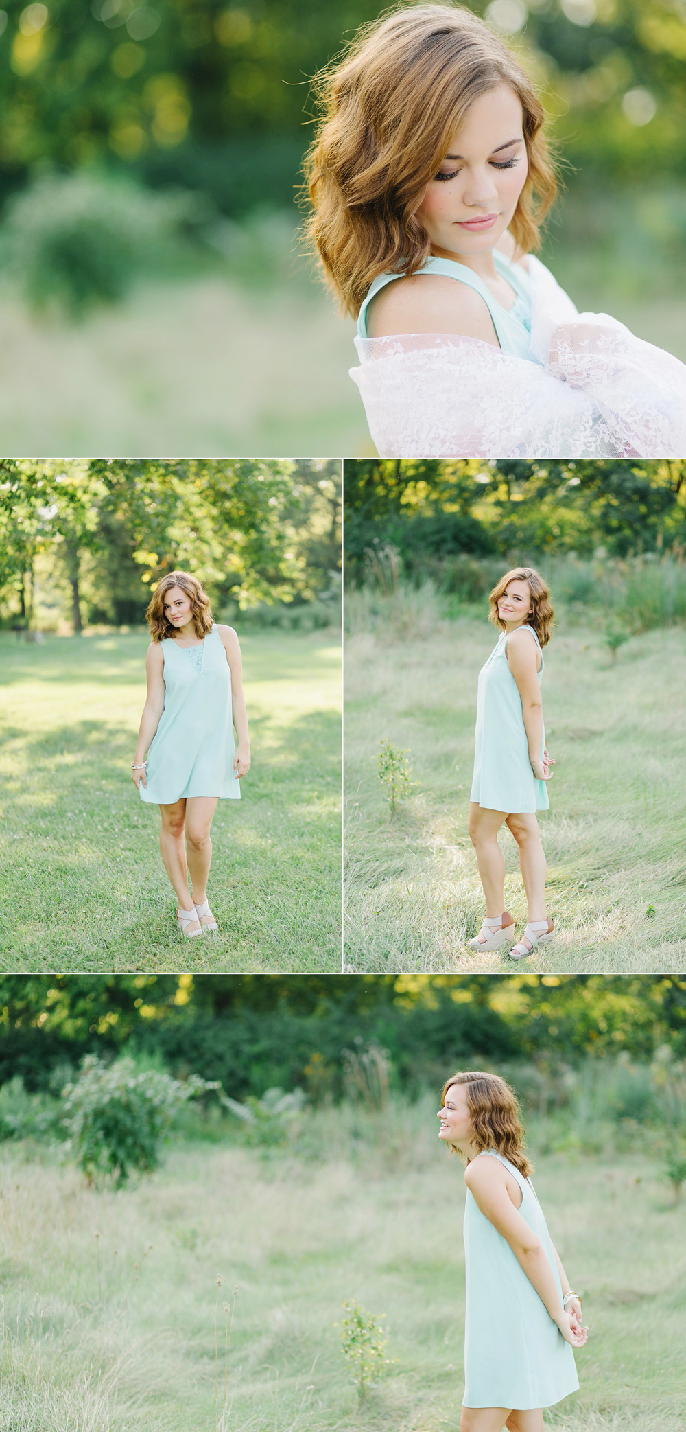 Carefree, fun senior portraits by Lux Senior Photography | Dayton, Ohio Senior Photographer