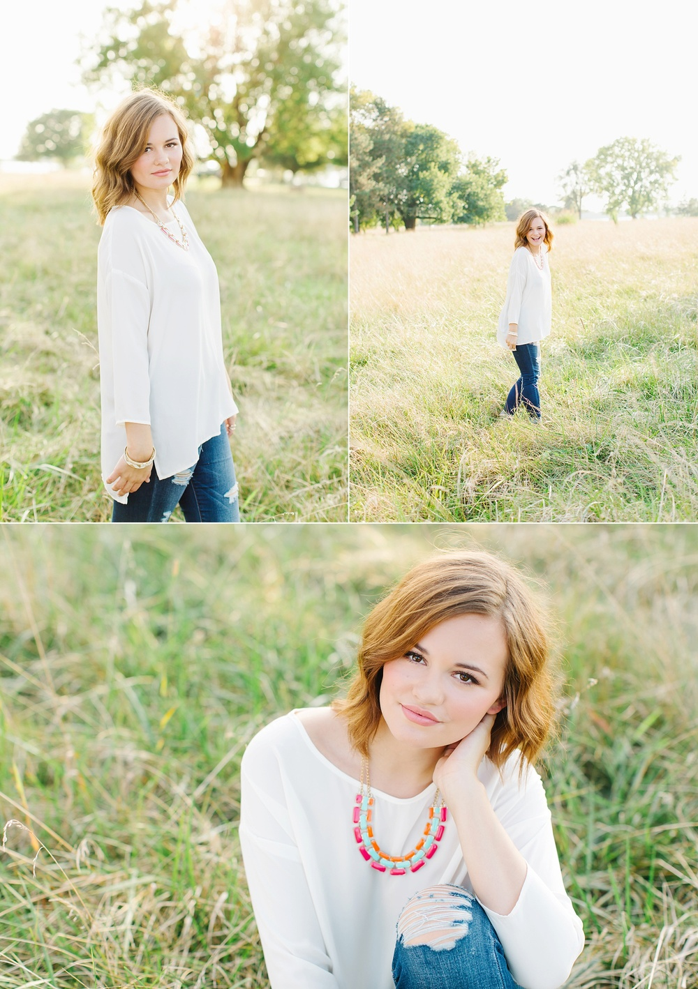 Beautiful backlit senior portraits by Lux Senior Photography | Dayton, Ohio Senior Photographer