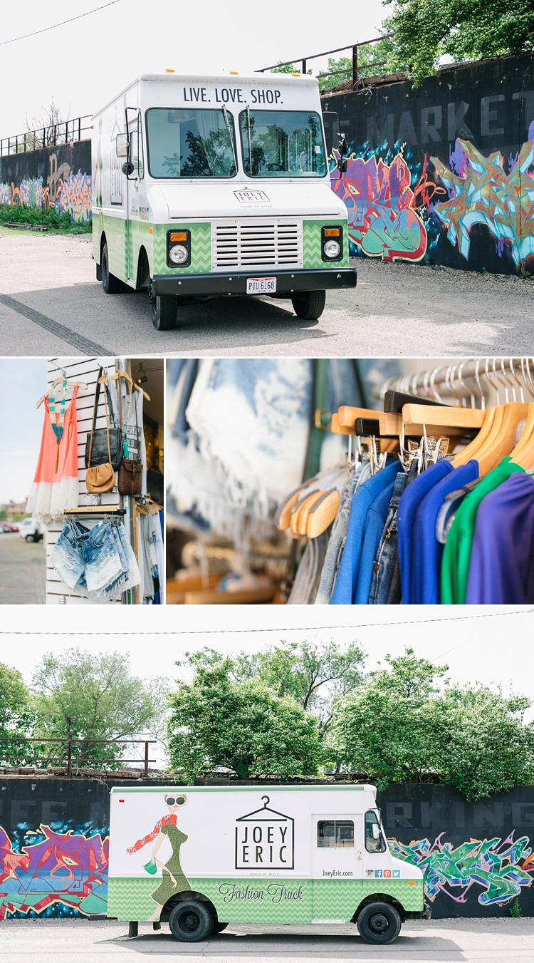 Joey Eric Fashion Truck, Dayton Ohio - What to Wear for Senior Pictures