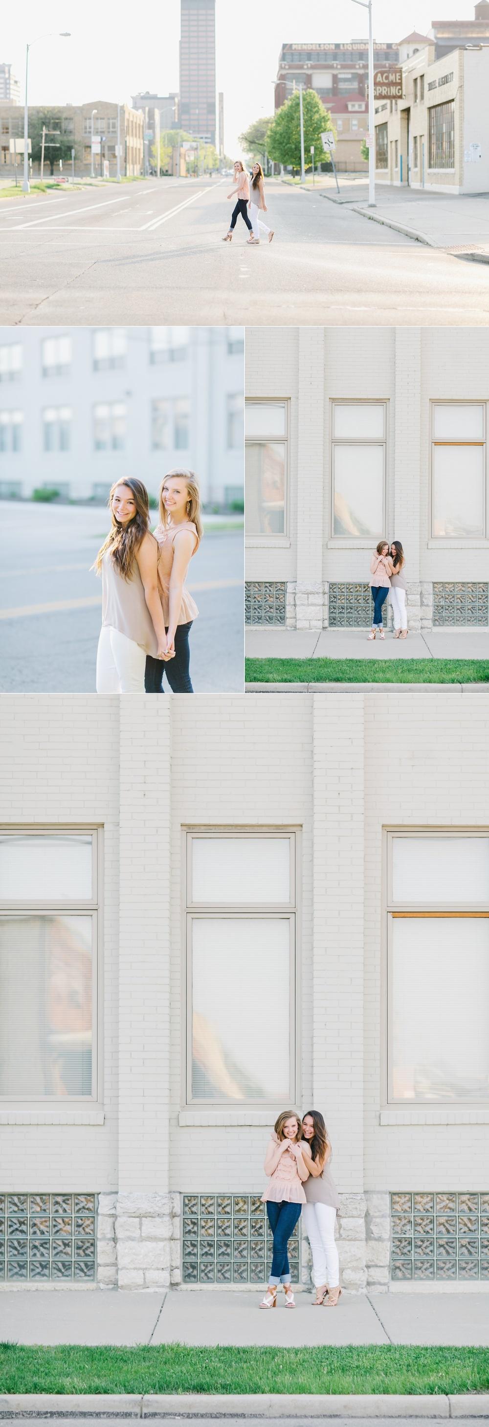 Dayton Ohio Best Friend Session - Lux Senior Photography