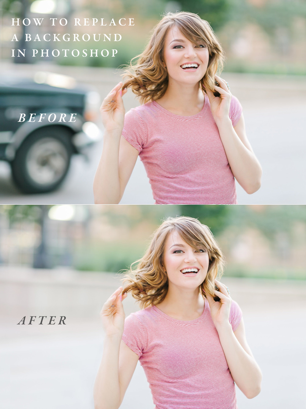 How to easily replace the background of an image in Photoshop CC