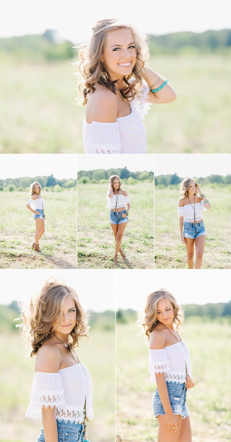 country girl senior pictures