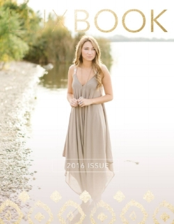 Jacqueline's winning cover, from the Class of 2016 LUXBOOK.