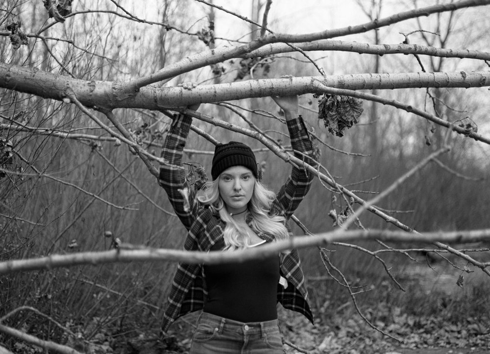 Senior Portraits for girls on medium format film