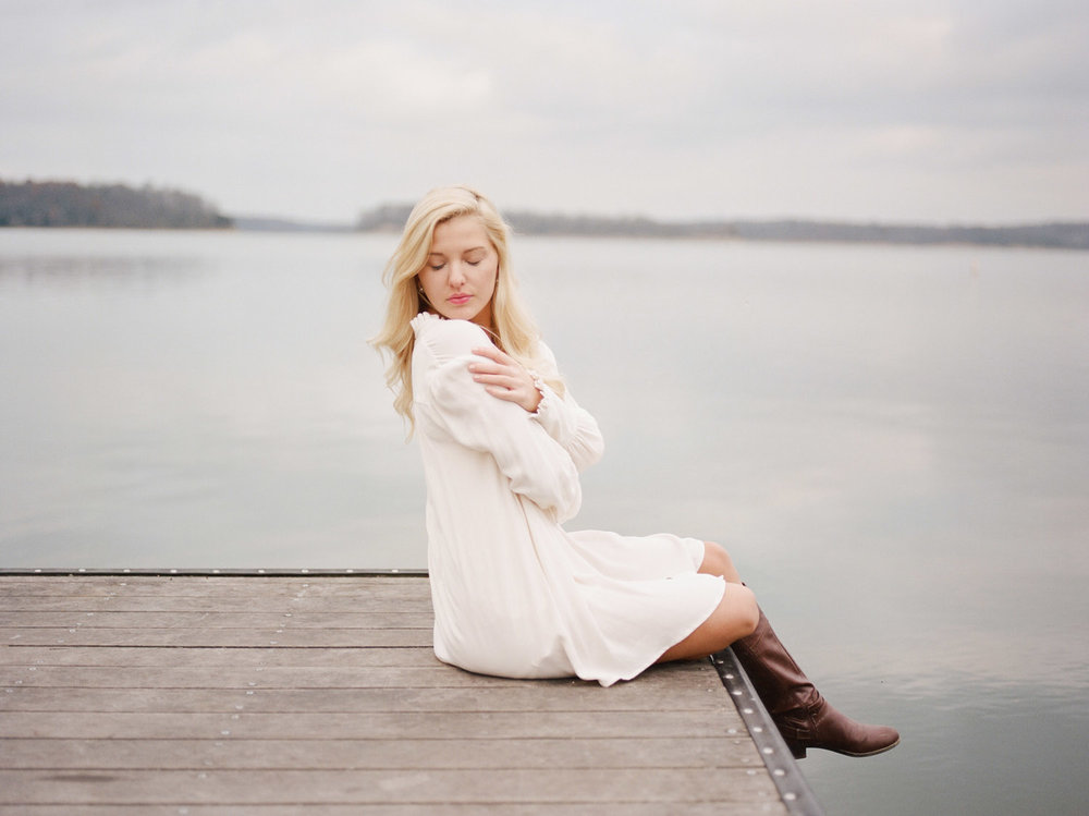 Senior Portraits for girls on medium format film
