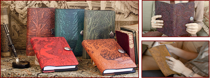 Oberon Leather Artisan Journals