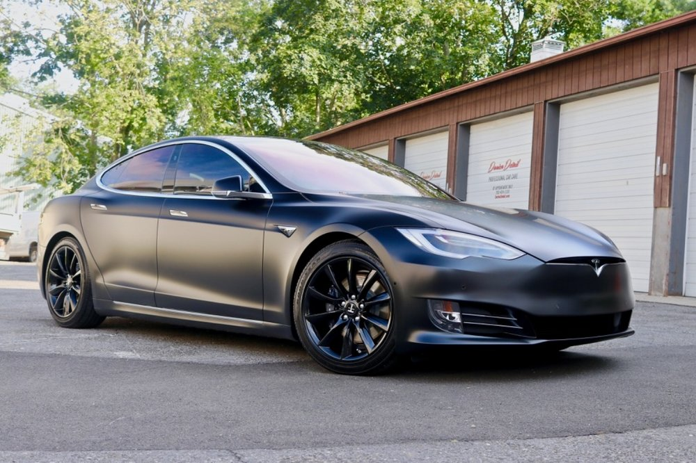 Tesla Model S - Xpel Stealth Paint Protection Film - New Car Detail -Crystalline Window Tint - CQuartz Professional