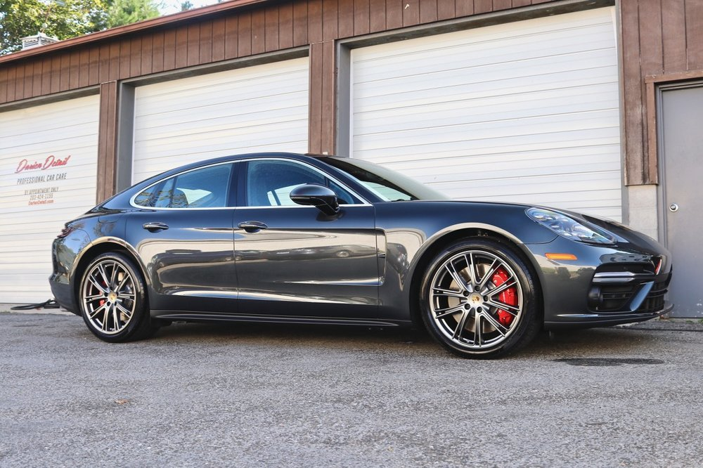 Porsche Panamera Turbo - Paint Protection Film - New Car Detail - CQuartz Finest Reserve