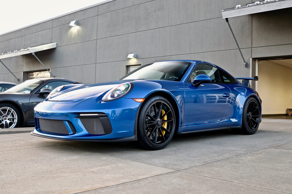 Porsche 991.2 GT3 - Paint Protection Film - New Car Detail - CQuartz Finest Reserve