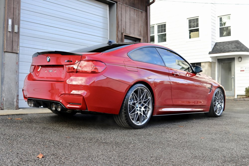 BMW M4 Competition Pack - Paint Correction - Paint Protection Film - CQuartz Finest Reserve