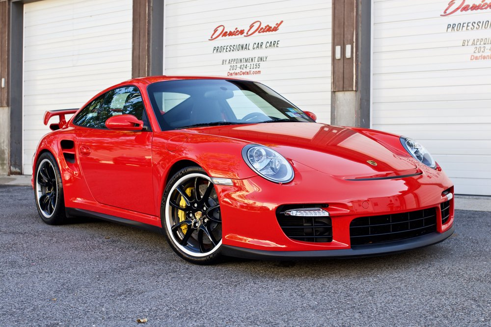 Porsche 997.1 GT2 - Paint Protection Film - Restoration Grade Detail - CQuartz Finest Reserve