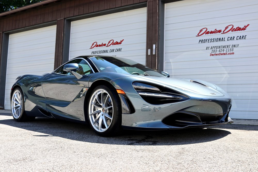 Silver McLaren 720s - Paint Correction - Paint Protection Film - CQuartz Finest Reserve