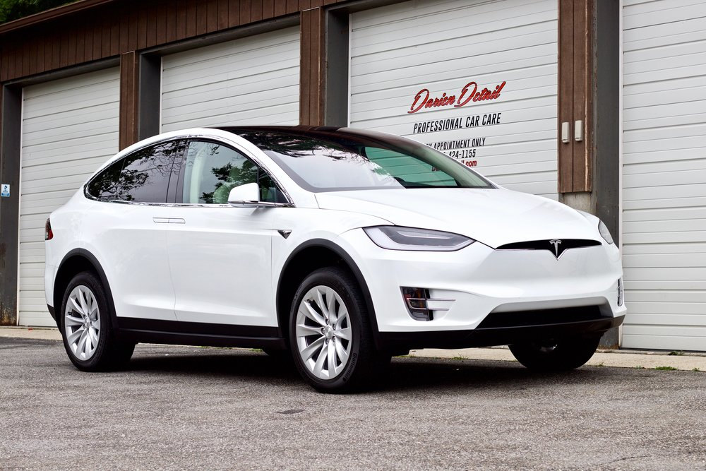 Tesla Model X - Paint Correction - Paint Protection Film