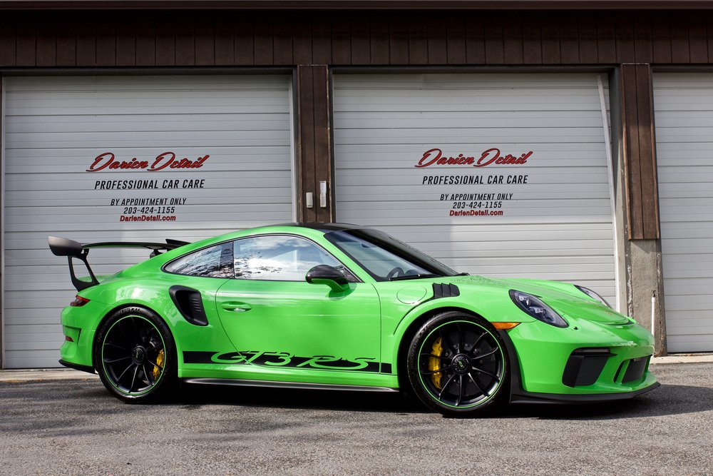 Porsche GT3 RS - Paint Protection Film - New Car Detail - CQuartz Finest Reserve