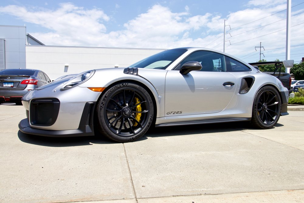 Porsche GT2 RS - Paint Protection Film - New Car Detail - CQuartz Finest Reserve