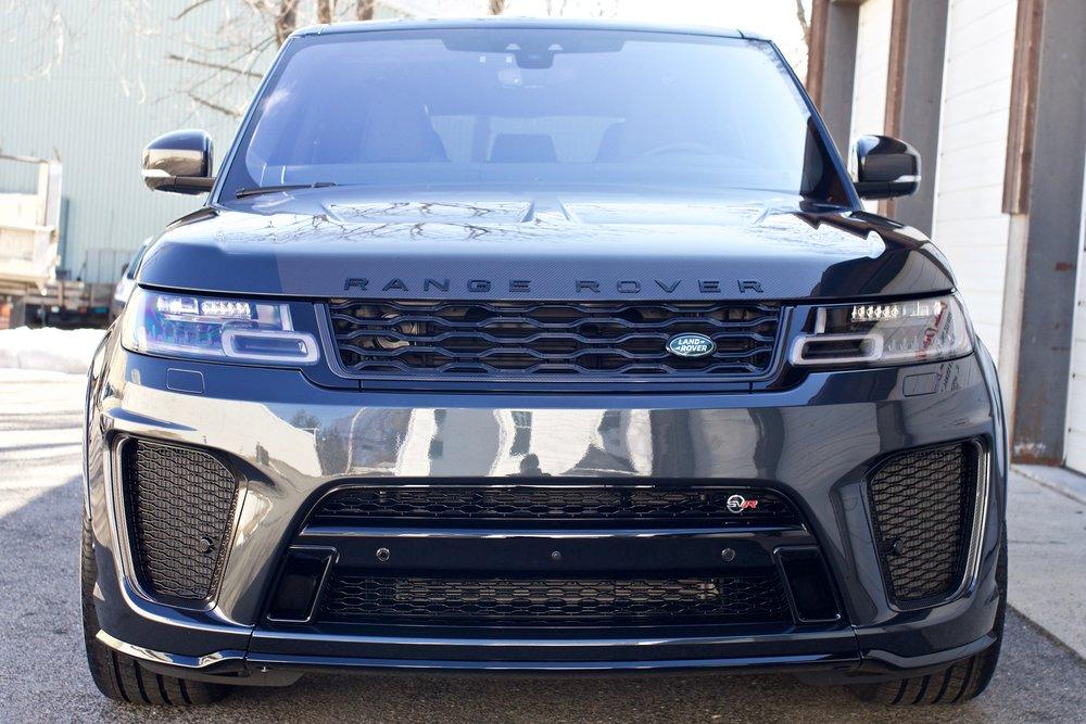 Range Rover SVR - Paint Protection Film - New Car Detail - CQuartz Finest Reserve