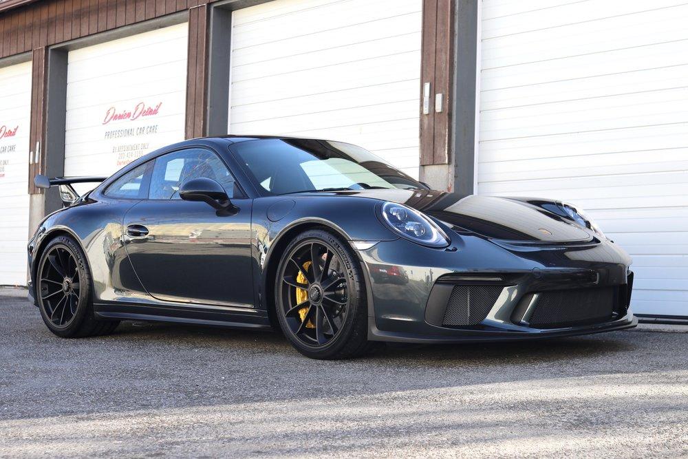Porsche GT3 - Paint Protection Film - Paint Correction - CQuartz Finest Reserve